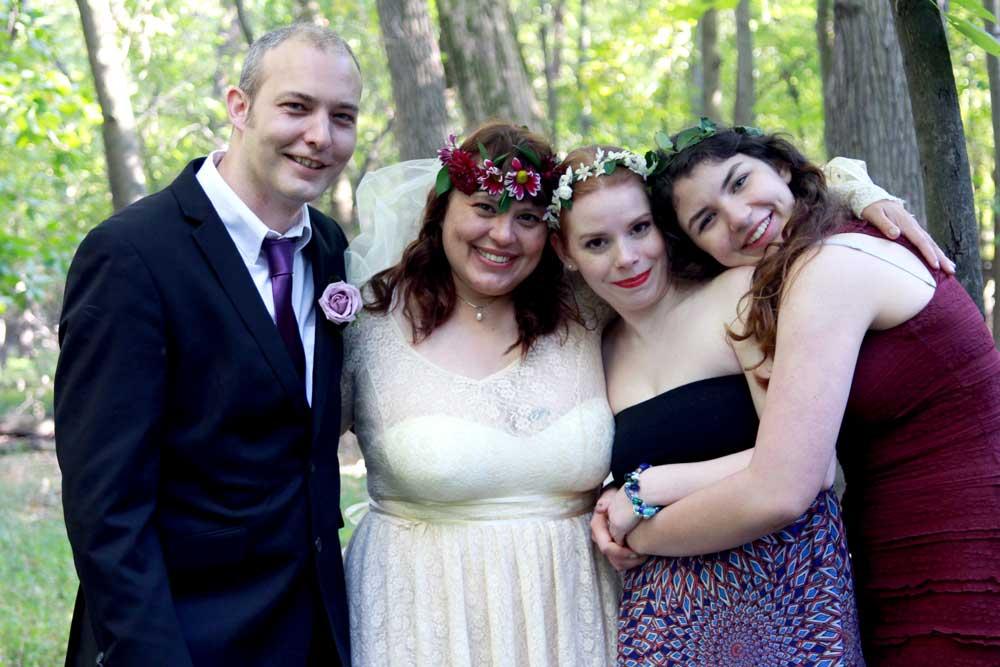 Marya, Craig, and girls