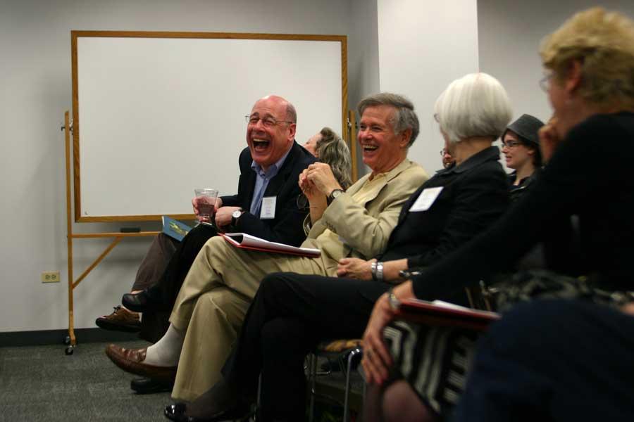 Columbia College laugh